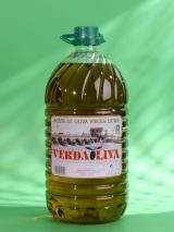 VERDAOLIVA Virgen Extra 5l.Aceite de Oliva Virgen Extra, formato de garrafas de 5 l. pet.